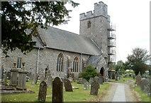 SN7634 : St Dingat's Church, Llandovery by Jaggery