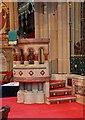 TQ3975 : St Margaret, Brandram Road - Pulpit by John Salmon