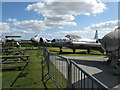 SU9006 : Outside exhibits at Tangmere Military Aviation Museum by Dave Spicer