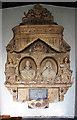 ST4849 : St Leonard's church, Rodney Stoke - monument to Sir Edward Rodney by Mike Searle