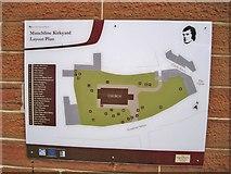 NS4927 : Kirkyard plan by Richard Dorrell