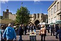 SK9771 : Main Entrance, Lincoln Castle by Paul Buckingham