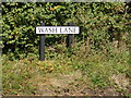 TM3878 : Wash Lane sign by Adrian Cable