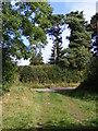 TM3778 : Footpath to Wissett Road by Adrian Cable