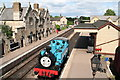 TL0997 : Nene Valley Railway. You smilin' at me, Tom? by Chris