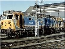 TQ2182 : Old Oak Common Traction Motive Power Depot, near Harlesden by Dave Hitchborne