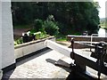 SO8584 : Garden gates, lock cottage, Hyde lock by Christine Johnstone