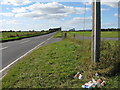 SU8807 : View west along the Lavant Straight by Dave Spicer