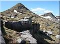 NN1744 : North face of Stob Coir an Albannaich by Alan O'Dowd