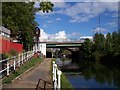 SJ7994 : Bridgewater Canal at Stretford by Raymond Knapman