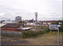 SJ8297 : Telecommunications mast at Cornbrook by Raymond Knapman