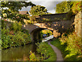 SJ9272 : Macclesfield Canal, Bridge#40 (Leadbeater's Bridge) by David Dixon