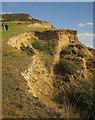 SY4092 : Kitwells Cliff by Derek Harper
