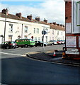 ST3036 : Old-style sign at the Bridgwater end of Westonzoyland Road  by Jaggery