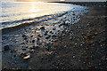 SV8708 : Periglis pebbles at sunset by David Lally