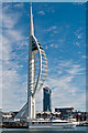 SZ6299 : Spinnaker Tower and 1 Gunwharf Quays by Ian Capper