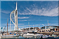 SZ6299 : Spinnaker Tower and The Waterfront by Ian Capper