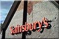 TQ2606 : 'Sainsbury's' sign, Portslade by nick macneill