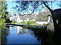 TL2379 : The pond at Wennington by Marathon