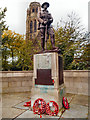 SJ8791 : Great War Memorial outside St Paul's Church by David Dixon