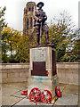 SJ8791 : Great War Memorial outside St Paul's Church by David Dixon