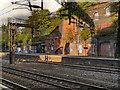 SJ8892 : Heaton Chapel Railway Station by David Dixon