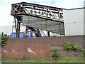 SP0388 : Covered conveyor belt above the canal towpath by Christine Johnstone
