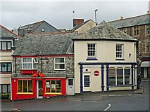 SX3384 : Westgate Street and Dockey, Launceston by Robin Drayton