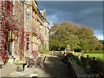 NZ6216 : Terrace, Gisborough Hall Hotel by Robin Webster