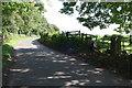SE2893 : Fleetham Lane at Fencote Park by Roger Templeman