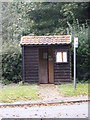 TM3377 : Bus Shelter on Chediston Road by Adrian Cable