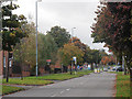 SP0181 : Long Nuke Road in autumn by Row17