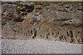 SD4376 : Limestone cliff near Park Point by Ian Taylor