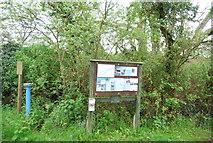 TQ0524 : Information board, Lording's Lock by N Chadwick
