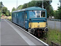 TQ5434 : Eridge, Groombridge Road, Spa Valley Railway by Helmut Zozmann