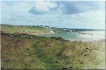 SH3568 : Aberffraw and the Afon Ffraw by John Baker