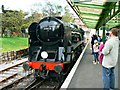 SZ0278 : Steam locomotive at Swanage Railway Station, Dorset by Brian Robert Marshall
