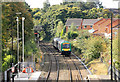 SJ9912 : Arriving at Hednesford Station by roger geach