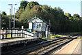 SK0417 : Brereton sidings signal box by roger geach
