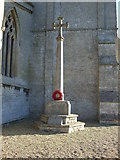 TF1107 : War Memorial, Maxey by JThomas