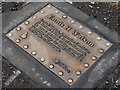 J3574 : Ennis Watson plaque, Belfast by Albert Bridge