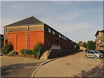 SO8453 : New flats on the north side of Basin Road by Christine Johnstone