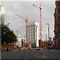 SJ8397 : Redevelopment of St Peter's Square by David Dixon