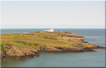 SH4793 : Point Lynas Lighthouse by Christine Courtney
