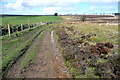 SS8341 : Bridleway on Almsworthy Common by Graham Horn