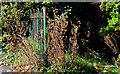 J3674 : Old Belfast Corporation fence by Albert Bridge