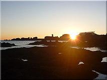 NT6779 : Coastal East Lothian : Sunrise at Dunbar by Richard West