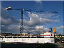 TQ7369 : De Montford Apartments Building Site, Strood by David Anstiss
