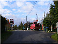 TM4183 : Brampton Level Crossing by Adrian Cable