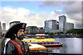 SJ3489 : Albert Dock, Pirate by Des Blenkinsopp